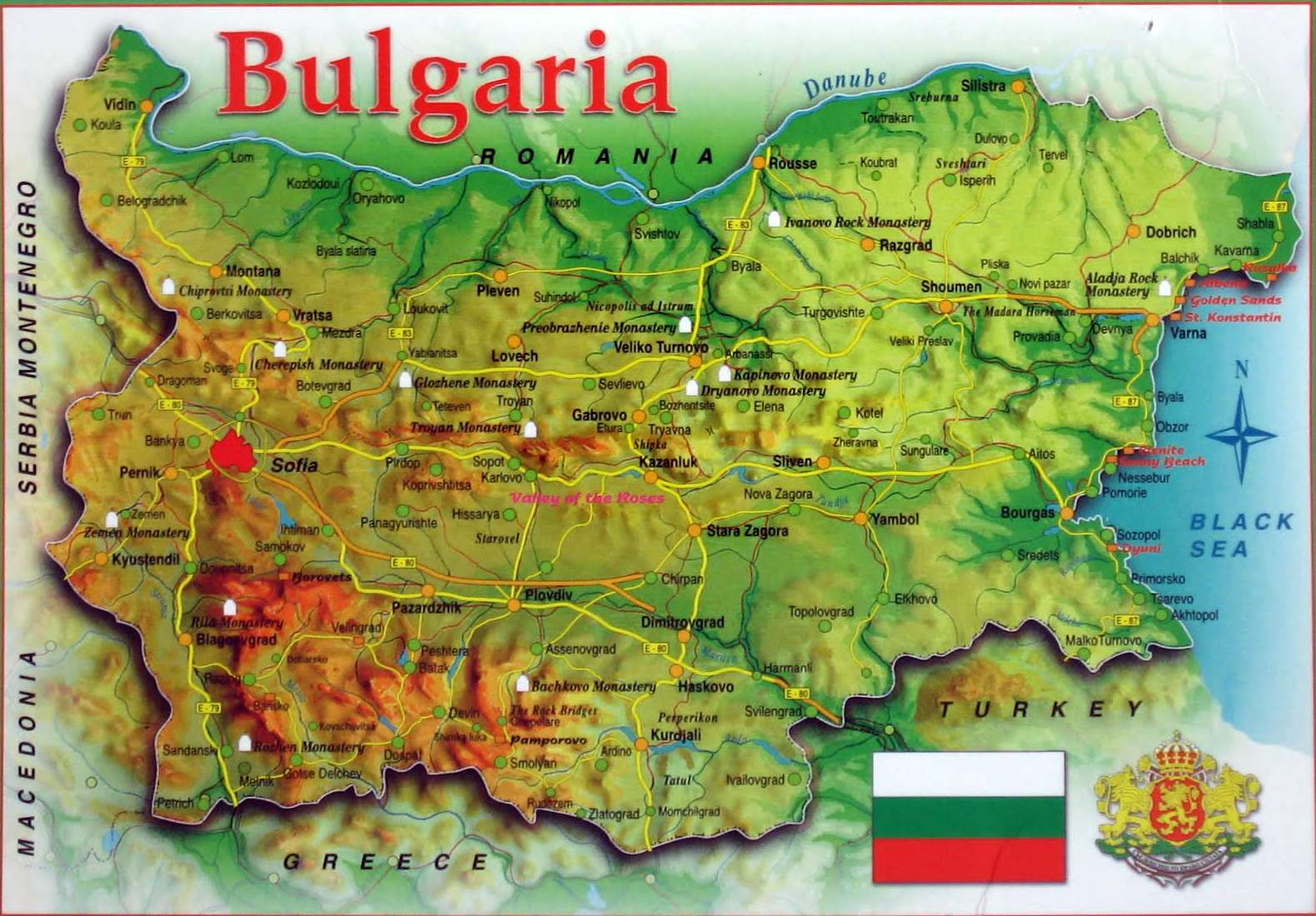 Show Apartment Map Of Bulgaria