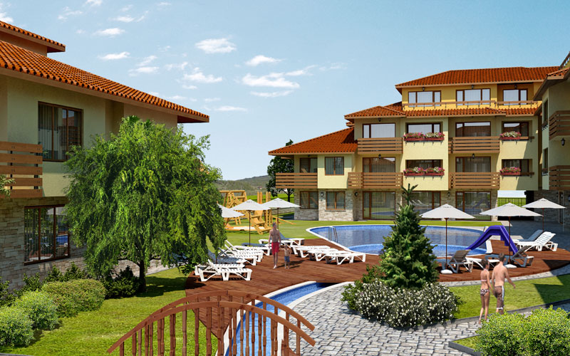 жилые комплексы в болгария