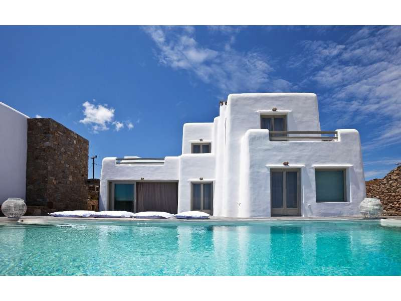 Three Luxury Villas in Kalafatis, Mykonos
